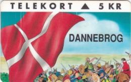Denmark, KP 013, Dannebrog, Flag, Vikings, Mint, Only 9.000 Issued, 2 Scans. - Dänemark