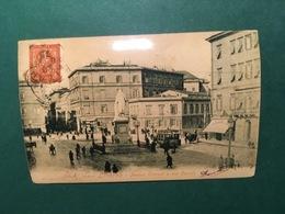 Cartolina Livorno - Piazza Cavour E Via Cairoli - Replica 1950 Ca - Livorno