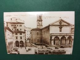 Cartolina Livorno - Piazza V. Emanuele E Cattedrale - Replica 1950 Ca - Livorno