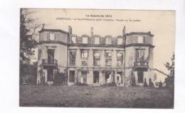 CPA DPT 54, GUERRE 14/18, LUNEVILLE, LA SOUS PREFECTURE APRES L INCENDIE - Luneville