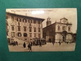 Cartolina Pisa - Palazzo E Chiesa Dei Cavalieri E Monumento - Replica 1950 Ca - Pisa