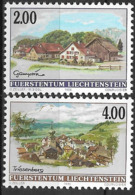 1998 Liechtenstein Mi. 1177-8**MNH  Dorfansichten. - Neufs