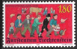 1998 Liechtenstein Mi. 1179**MNH   150. Jahrestag Des Revolutionsjahres 1848. - Ongebruikt