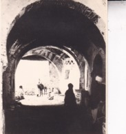 ALGERIE AURES KHANGA SIDI NADJI Ambiance De Rue 1923 Photo Amateur Format Environ 7,5 Cm X 5,5 Cm Tirage Années '30 - Orte