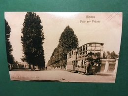 Cartolina Monza - Viale Per Vadeno - Replica 1950 Ca - Milano (Milan)