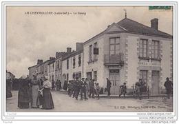 44) LA CHEVROLIERE (Loire Inférieure)  Le Bourg  - (animée) - France