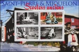 SAINT PIERRE AND MIQUELON SPM 2018 Classic Scooters Cars Transport MNH - Sonstige (Land)