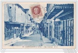 47) CASTILLONNES  (LOT ET GARONNE)  RUE CENTRALE - Sonstige Gemeinden