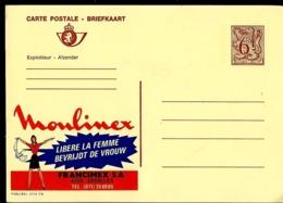 Publibel Neuve N° 2714  ( Moulinex Libère La Femme - Gosselies) Publicité Très Sexiste !!! - Stamped Stationery