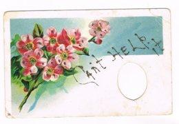 CANT HELP IT (fleurs), Carte Avec Brillants - Cartes Postales