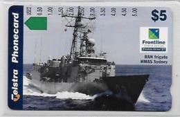 Australie Bateau Fregate De Guerre - Australie