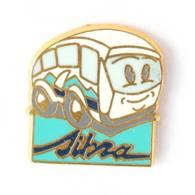 Pin's SITRA - Autobus Humoristique - Zamac - Alpes Trophées - I741 - Transportation