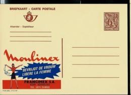 Publibel Neuve N° 2715  ( Moulinex Libère La Femme - Gosselies) Publicité Très Sexiste !!! - Stamped Stationery