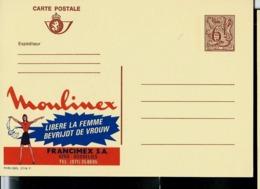 Publibel Neuve N° 2716  ( Moulinex Libère La Femme - Gosselies) Publicité Très Sexiste !!! - Stamped Stationery