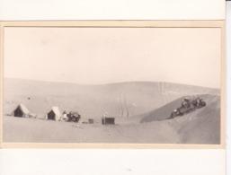 ALGERIE Désert Dunes De BEHIMA Près EL OUED 1923 Photo Amateur Format Environ 7,5 Cm X 5,5 Cm - Orte