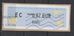 2014   EC   Ecopli  ***  0.87 - 2000 «Avions En Papier»