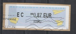 2014   EC   Ecopli  **  0.87 - 2000 «Avions En Papier»