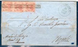Lettera 1859 Da Ariano (AV)  Per Napoli  2 Grana (1° Tav.) (15/08/1859) - Napoli
