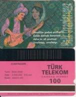 TURKEY - Halk Ozanlarimiz/Karacaoglan(100 Units, Abacicard), 10/00, Used - Turquie