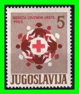 YUGOSLAVIA SELLO AÑO 1965 - 1945-1992 República Federal Socialista De Yugoslavia