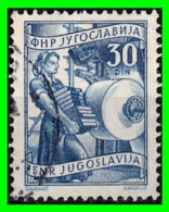 YUGOSLAVIA SELLO AÑO - 1945-1992 República Federal Socialista De Yugoslavia
