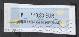 2014  IP   *** Lettre Prioritaire Internationale   0.83 - 2000 «Avions En Papier»