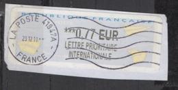 2011    *** Lettre Prioritaire Internationale   0.77 - 2000 «Avions En Papier»