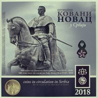 Serbia 2018. Mint Set Of The National Bank Of Serbia 100 YEARS SINCE THE END OT THE FIRST WW 1918-2018 - Serbia