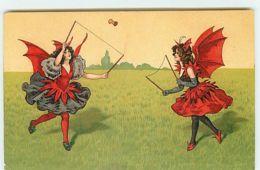 N°13771 - Deux Diablesses Jouant Avec Un Diabolo - Autres