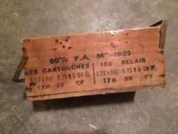 Caisse à Munitions En Bois - Equipement