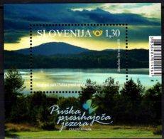 2018 Slovenia - NAtural Parks Of Slovenia - Landscape Park Sickerseen Von Pivka MS - MNH** MiNr. 1325(Block 110) - Slovenia
