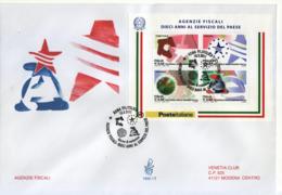 """2011 - FDC """" AGENZIE FISCALI """" VENETIA VEDI++++ - 6. 1946-.. Republic"""