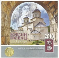 Serbia 2019. Mint Set Of The National Bank Of Serbia With Medal 800 YEARS OF MILESEVA MONASTERY - Serbia