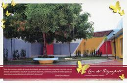 Lote PEP1100, Colombia, 2014, Postal, Postcard, Casa Del Telegrafista, Aractaca,  Butterfly, Writer, Garcia Marquez - Colombia