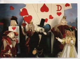 Cpm.Jeux.Jouets.La Magie Des Automates D'Alain Bardo.Alice Aux Pays Des Merveilles La Ronde Des Cartes - Games & Toys