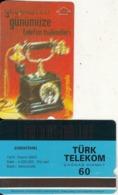 TURKEY - Old Telephone, Bindokuzyüzyirmiiki 1922(60 Units, Abacicard), 11/00, Used - Turquie