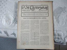 LA VIE AUTOMOBILE DUNOD EDITEUR DU SAMEDI 6 SEPTEMBRE 1919 LA 10 H-P SECQUEVILLE HOYAU,LES ESSAIS AU BANC..... - Livres, BD, Revues