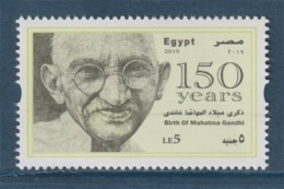 Egypt - 2019 - New - ( 150th Annie., Birth Of Mahatma Gandhi ) - MNH** - Mahatma Gandhi