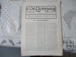 LA VIE AUTOMOBILE DUNOD EDITEUR DU SAMEDI 12 JUILLET 1919 LES VOITURES MAYOLA,LA MOTOCYCLETTE 3 CHEVAUX A B C - Livres, BD, Revues