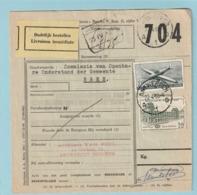 Vrachtbrief Met Luchtpostzegel PA29 (zeldzaam Op Vrachtbrief) - Antwerpen 1960 - Railway