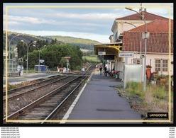 48  LANGOGNE  ... La  Gare - Langogne
