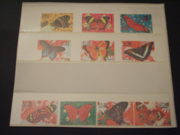 GRENADA - 2000 FARFALLE 4 + 6 VALORI - NUOVI(++) - Grenada (1974-...)