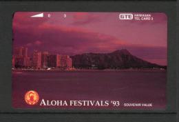 Hawaii GTE - 1993 3 Unit - Aloha Festival - Night - HAW-40 - Mint - Hawaï