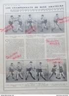 1910 LES CHAMPIONNATS DE BOXE AMATEURS - LA VIE AU GRAND AIR - Kranten