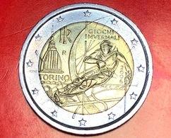 ITALIA - 2006 - Moneta - XX Giochi Olimpici Invernali (Torino 2006) - Sci - Euro - 2.00 - Italia