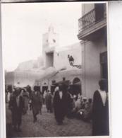KAIROUAN Tunisie Ambiance De Rue 1923 Photo Amateur Format Environ 7,5 Cm X 5,5 Cm - Orte