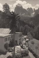 ORTISEI-BOZEN-BOLZANO-PENSIONE RISTORANTE=COL DE FLAMM=CARTOLINA VERA FOTOGRAFIA -VIAGGIATA IL 31-7-1958 - Bolzano