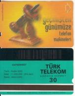 TURKEY - Old Telephone, Binsekizyüzyetmissekiz 1978(30 Units, Abacicard), 12/00, Used - Turquie