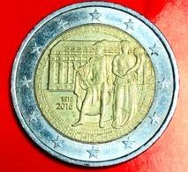 AUSTRIA - 2016 - Moneta - 200 Anni Della Banca Nazionale Austriaca - Mercurio E Fortuna - Euro - 2.00 - Austria