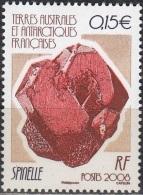 TAAF 2008 Yvert 499 Neuf ** Cote (2015) 1.00 Euro Minéral Spinelle - Terres Australes Et Antarctiques Françaises (TAAF)